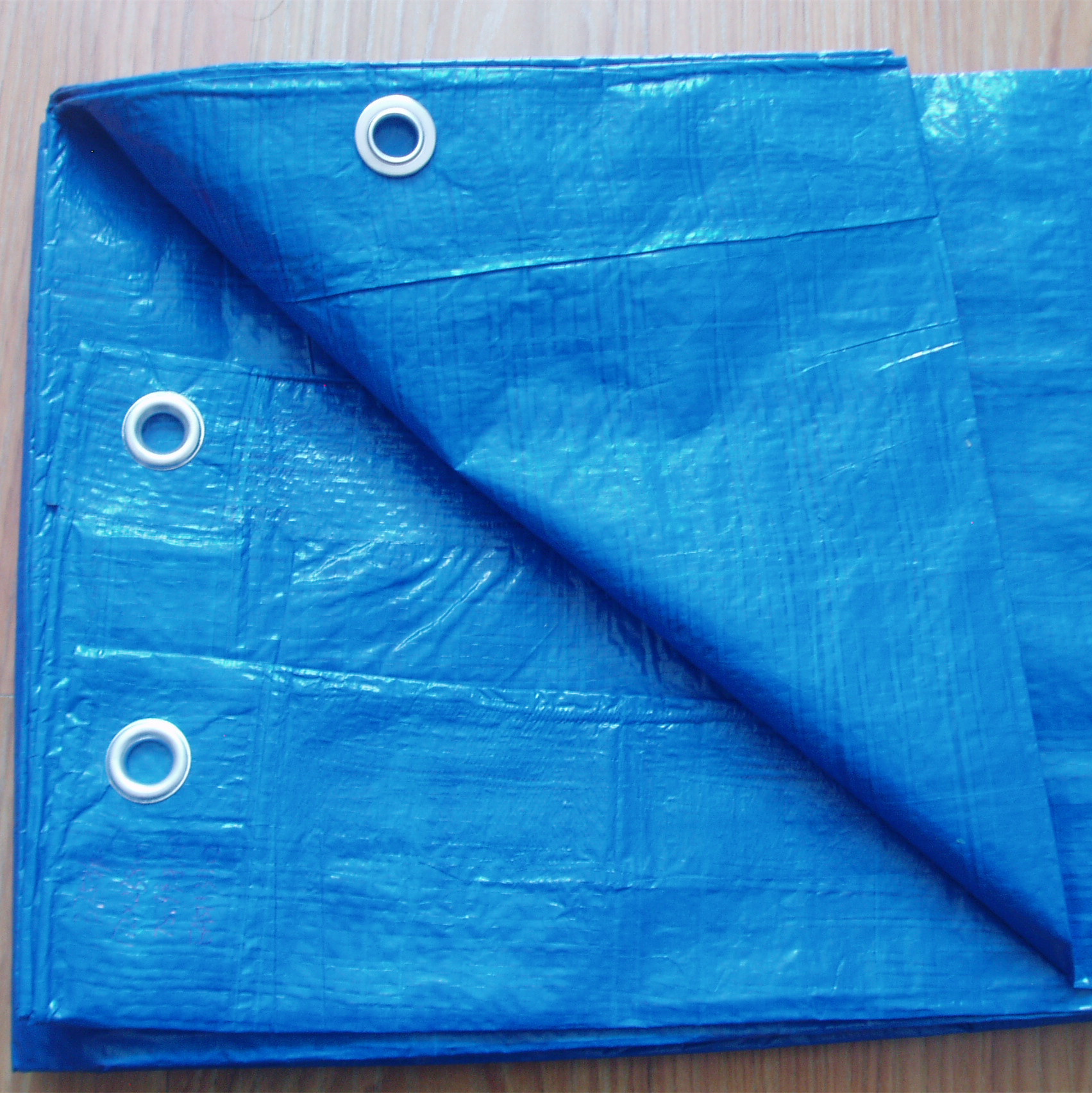 Blue PE tarpaulin sheet