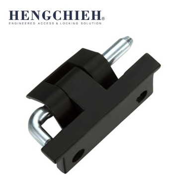 Black Matt-Chrome Plating ZDC Cabinet Concealed Hinge