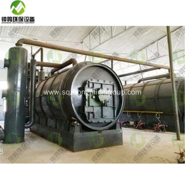 Plastic Recycling to Diesel Oil Process Machine