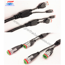 Personlized Products for waterproofing cables overmolding Deutsch Molded Cable Assembly supply to Italy Suppliers