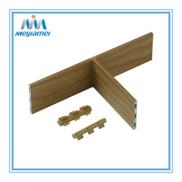 Three side drawer divider connector