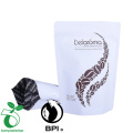 biodegradable compostable food vacuum sealed stand up bags for food/Tea/Coffee