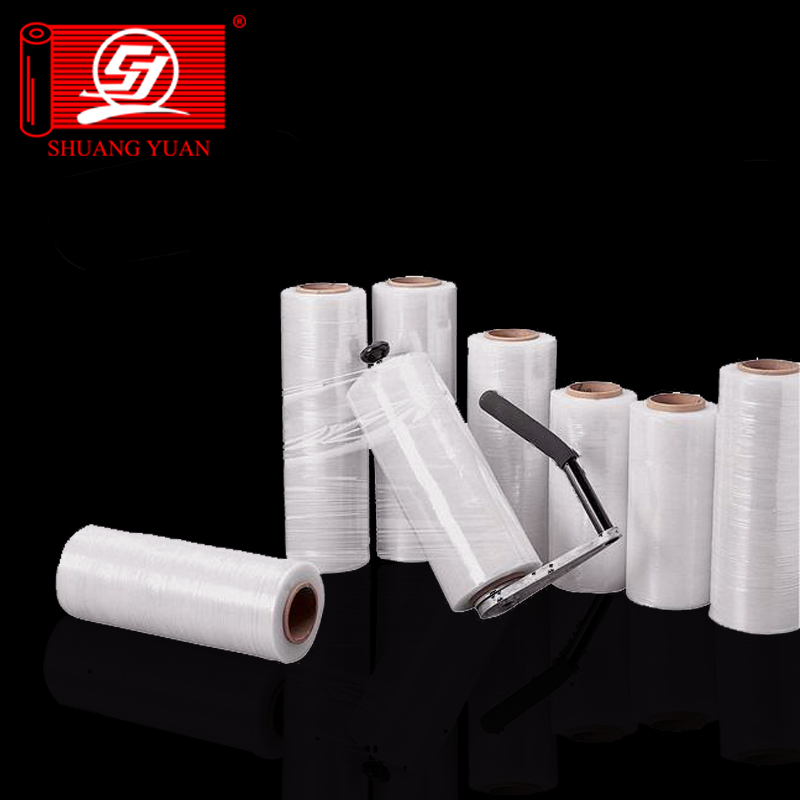 high transparent stretch film from 10mic to 40mic