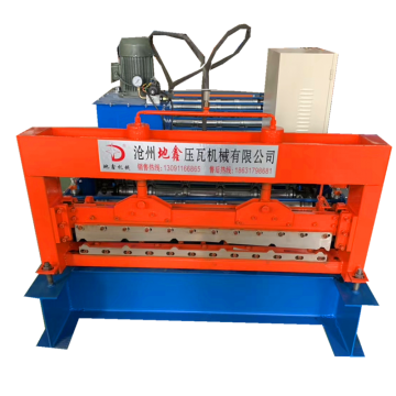 900mm width roof and wall panel making machine