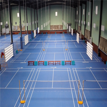Enlio PVC rolling badminton floor mat BWF approved