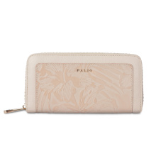 Beautiful Printed Long Zipper Clutch Wallet For Lady