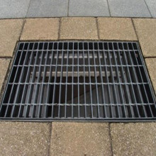 Drainage Steel Grating Cover Ditch With Cover