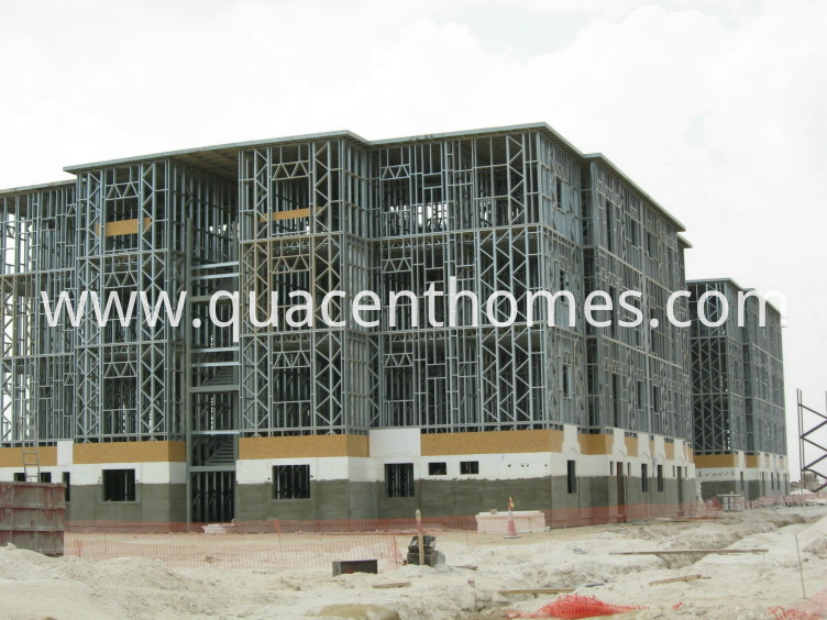 Prefabricated Steel Frame Apartment