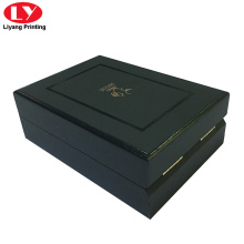 Black Perfume Box Printing with Foam