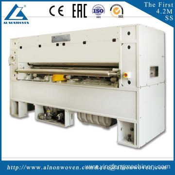 ALNP-2800(OR) woking width 2800mm embedding materials for automobiles needle punching machine