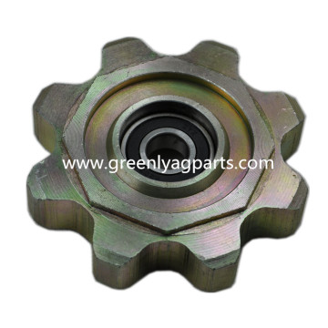 H231386 AH221638 John Deere lower idler chain sprocket