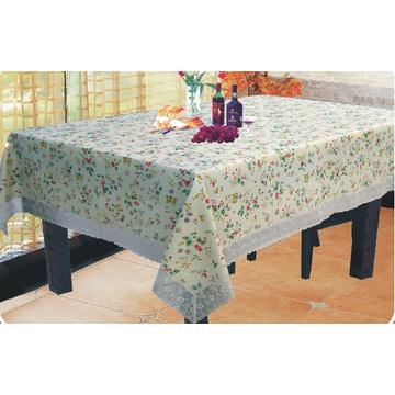 Readymade Tablecloth With Lace Edge 140 x 200cm