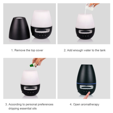 Ultrasonic Essential Oils Aromatherapy Oil Diffuser Portable