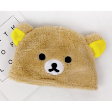 Online Manufacturer for Printing Polar Fleece Hat Cute Animal Baby Soft Coral Fleece Hat export to Mauritania Manufacturer