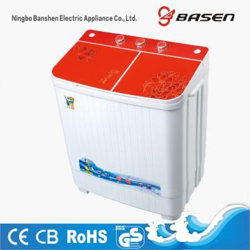 4KG Red Glass Cover Twin Tub Washing Machine