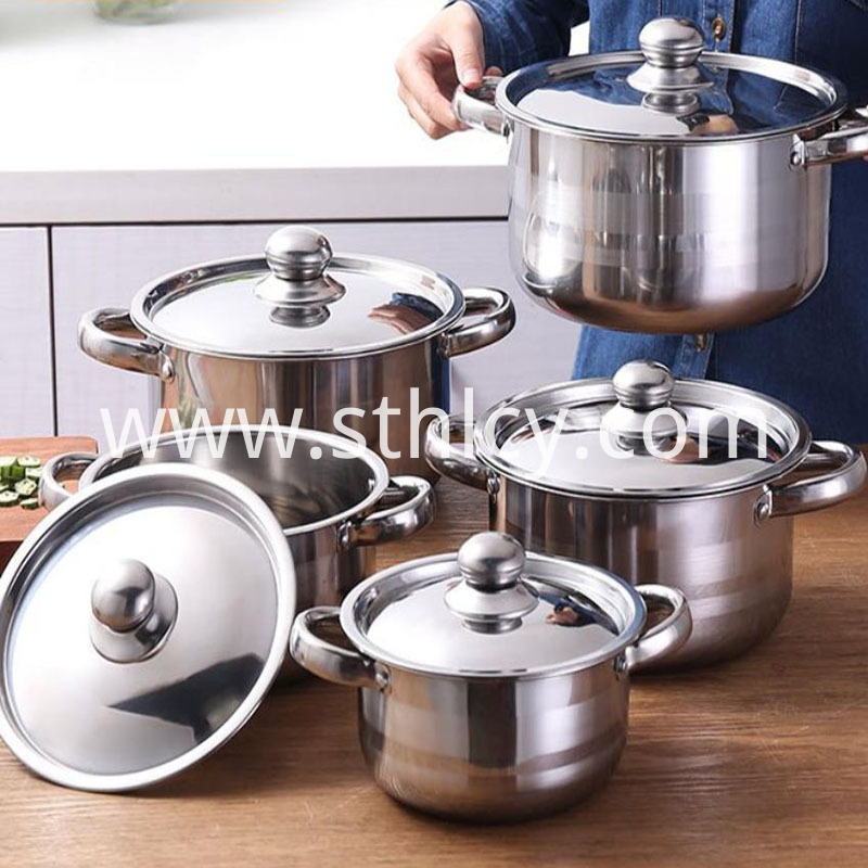 Stainless Steel Cookware Set Target