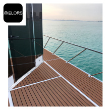 Professional for Faux Teak Strip EVA Faux Teak Sheet Marine Deck Flooring supply to Japan Factory