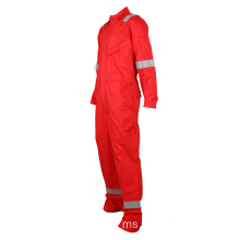 Borong OEM Safety Flame Retardant Work Coveralls