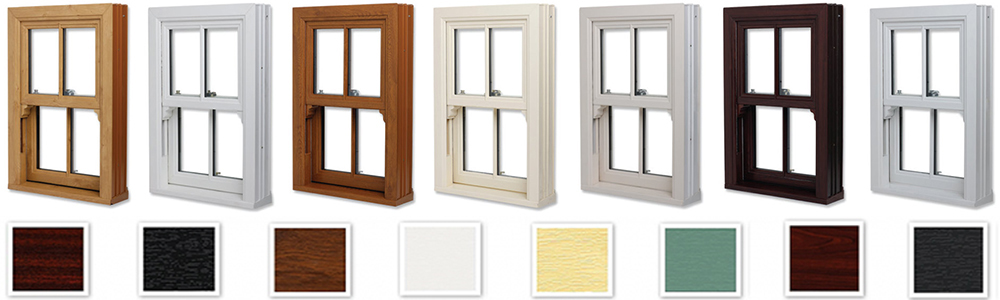 colorured upvc profiles for window