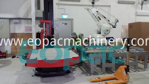 Fully Automatic Pallet Wrap Machine