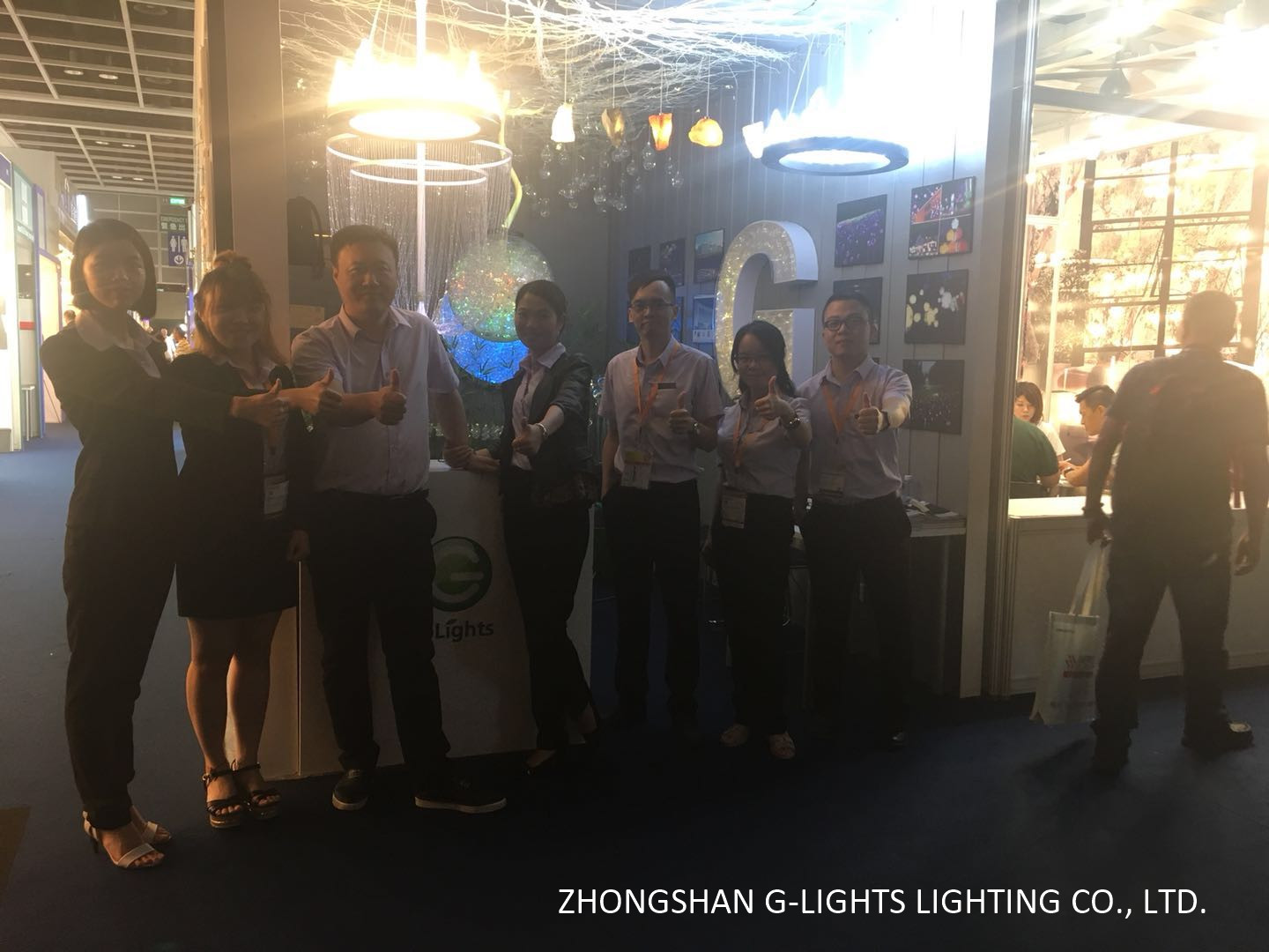 G-Lights in lighting fair