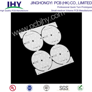 Single-Sided Aluminum Base LED PCB Super White