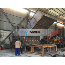 Heavy Duty motorized aluminum can Briquette Breaker crusher
