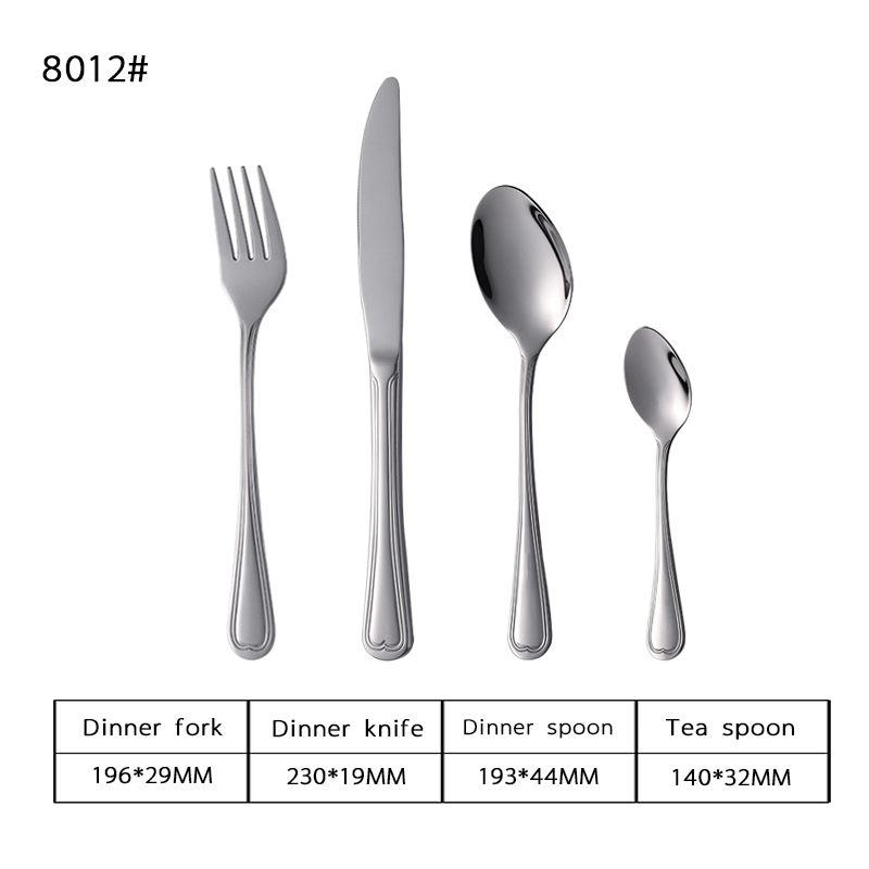 13-0 Stylish Stainless Steel Tableware