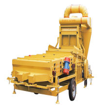 ODM for Mobile Combined Seed Cleaner high purity 12ton/h soybean Soya bean cleaning machine export to Russian Federation Wholesale