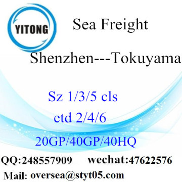 Shenzhen Port Sea Freight Shipping To Tokuyama