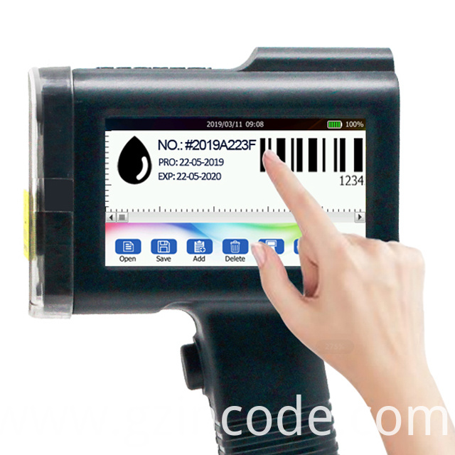 Light Weight Online Thermal Inkjet Printer