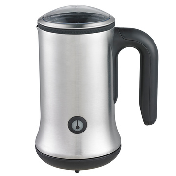 Stainless steel electric milk forther and milk warmer