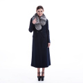 new styles long cashmere winter dress