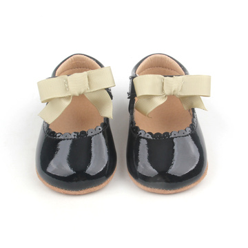 Chic Leather Mary Jane Baby Girls Shoes