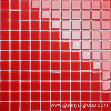 Pure Color Glass Mosaic