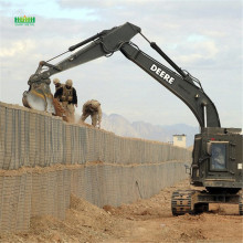 Defensive bastion hesco barriers for military