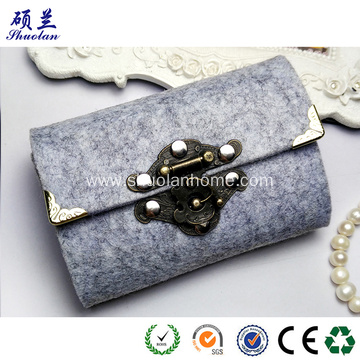 Mini women felt purse fashion style
