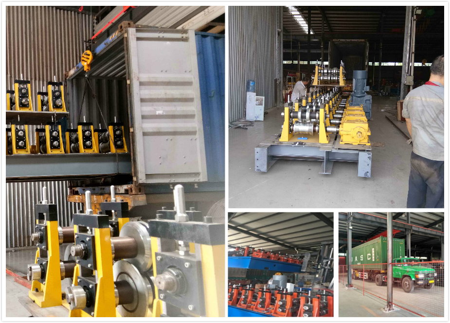 Steel Door Frame Roll Forming Machines