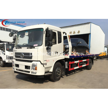 Wrecker novo do carro da estrada do verde de 2019 Dongfeng 7.2m
