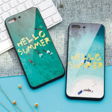 Summer Fashion Tempered Glass Screen Protector