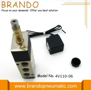 Flying Lead Connection 4V110-06 Pneumatic Control Valve
