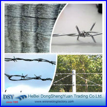 Low carbon steel barbed wire for Sale