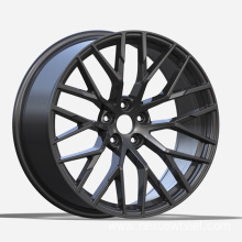 Black Painted Replica Wheel