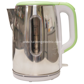 Leading for China Electric Tea Kettle,Stainless Steel Electric Tea Kettle,Cordless Electric Tea Kettle Manufacturer Stainless steel  electric Turkish tea kettle supply to Russian Federation Manufacturers