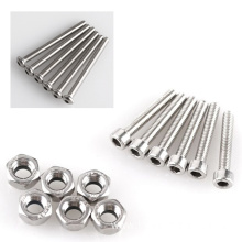 Stainless Steel and Carbon Steel Allen Screw DIN912