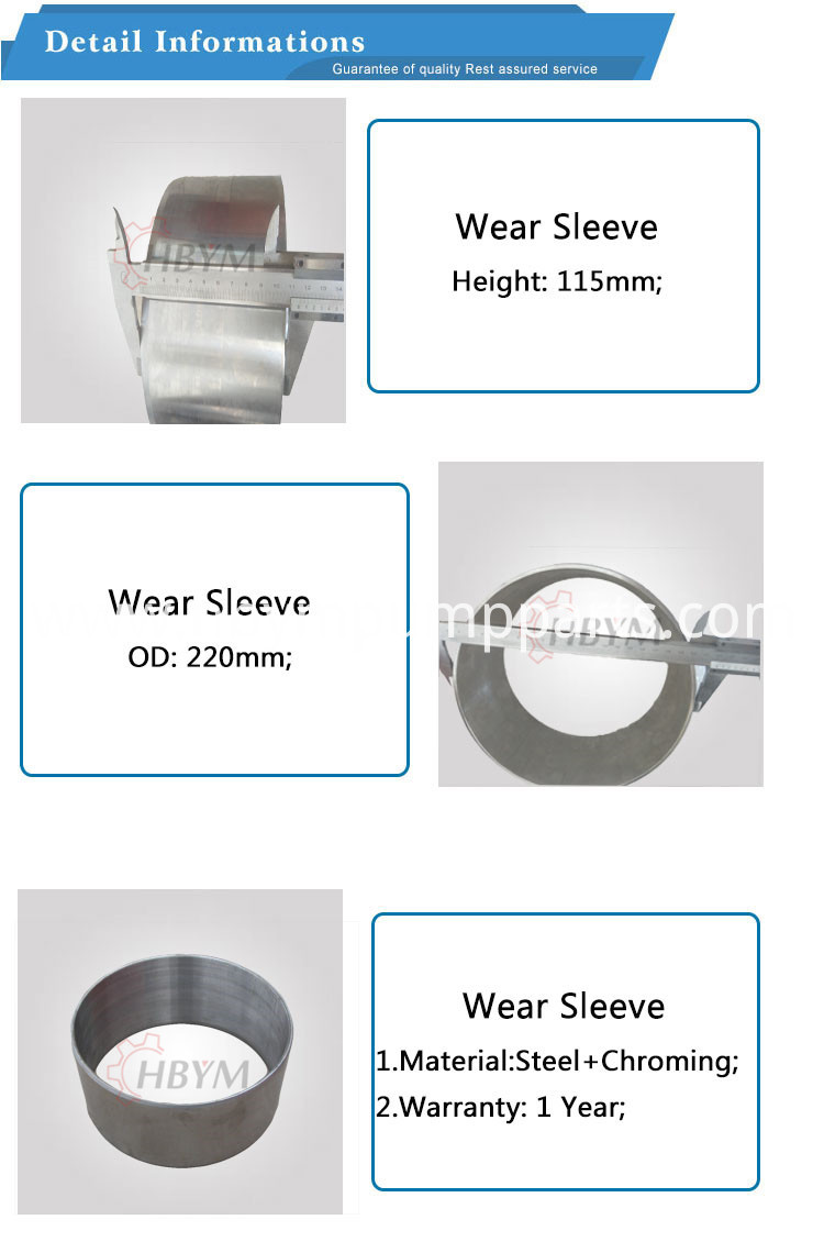 Putzmeister Wear Sleeve