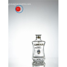 Russian Vodka Glass Bottle with Special Shape