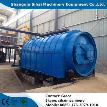 waste plastic pyrolysis plant with 90% oil yield