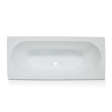 Acrylic Deep  Drop-in Bath Tub in White