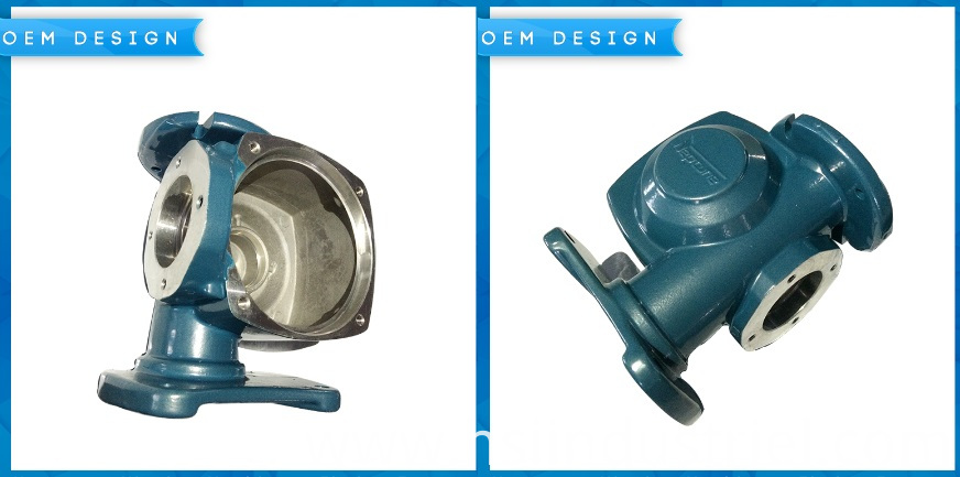 Aluminum Casting Pump Part